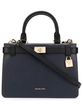 Tatiana Satchel Bag by Michael Michael Kors