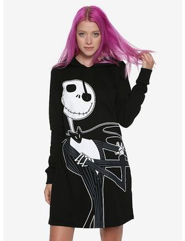 The Nightmare Before Christmas Jack Skellington Hoodie Dress by Hot Topic