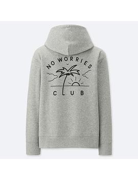 Pieter Ceizer Graphic Hooded Sweatshirt by Uniqlo