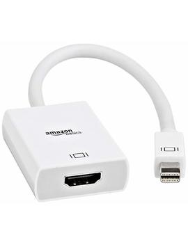 Amazon Basics Mini Display Port (Thunderbolt) To Hdmi Adapter by Amazon