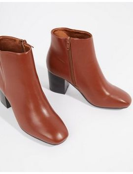 Truffle Collection Block Heel Ankle Boots by Boots