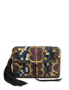 Saskia Iron Mosaic Box Handbag by Sam Edelman