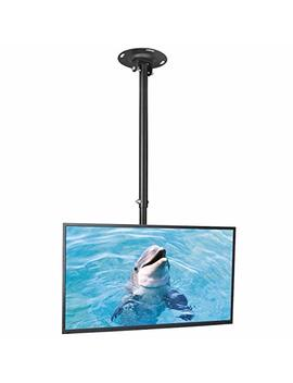 "Suptek Ceiling Tv Wall Mount Fits Most 26 50"" Lcd Led Plasma Flat Panel Display With Max Vesa 400x400mm Max Loaded Up To 45kg Height Adjustable With Tilt And Swivel Motion Mc4602 by Suptek"