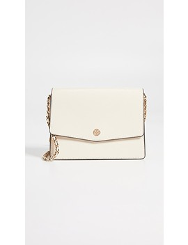 Robinson Patent Convertible Shoulder Bag by Tory Burch