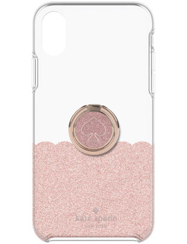 Gift Set Rose Gold For I Phone Xr   Ring Stand & Hardshell Case by Kate Spade New York