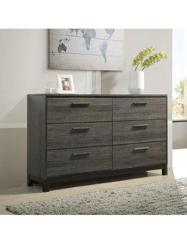 Gracie Oaks Mandy 6 Drawer Double Dresser & Reviews by Gracie Oaks