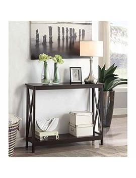 Convenience Concepts Oxford Console Table, Espresso by Convenience Concepts