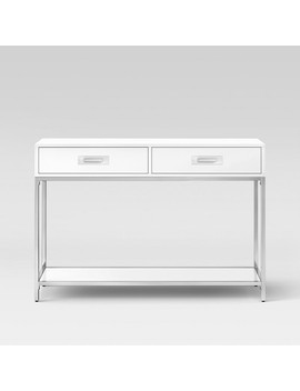 Ronchamp Console Table Chrome/White   Project 62™ by Project 62