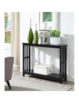 Porch & Den Bywater Miro Mission Console Table by Porch & Den