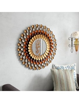 Red Barrel Studio Decorative Round Wall Mirror & Reviews by Red Barrel Studio