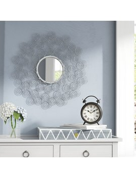 Latitude Run Modern Round Wall Mirror & Reviews by Latitude Run