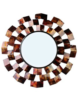 Red Barrel Studio Ahmad Art Deco Inspired Accent Mirror & Reviews by Red Barrel Studio
