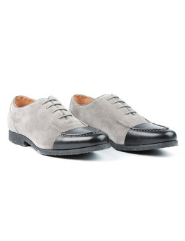 The Basalt Cap Toe Dress Formal // Grey by Touch Of Modern