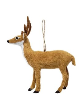 Faux Fur Deer Christmas Ornament   Wondershop™ by Shop This Collection