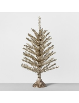 Decorative Pine Tree Small   Gold   Opalhouse™ by Shop Collections