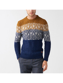 Kevin Tricot Jumper // Dark Blue by Touch Of Modern