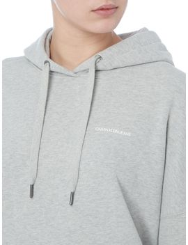 Institutional Hooded Dress by Calvin Klein