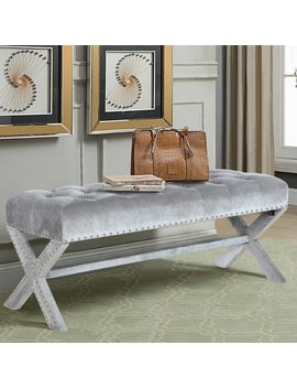 House Of Hampton Marston Moretaine Upholstered Bench & Reviews by House Of Hampton