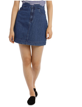 Lisa Scallop Short A Skirt by Vero Moda
