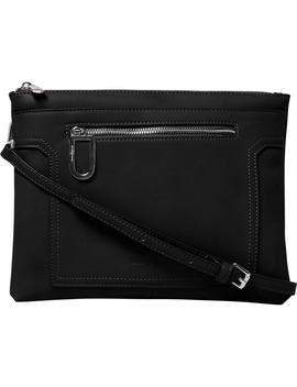 Muse Vegan Leather Crossbody Clutch by Urban Originals