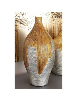 Cole & Grey Lacquer Bamboo Vase & Reviews by Cole & Grey