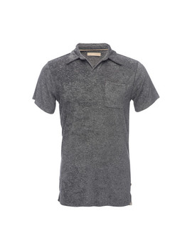 Nicholas Terry Polo Shirt // Gray by Touch Of Modern