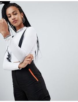 Asos Design Utility Pant With Suspenders by Asos Design