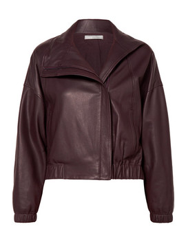 Leather Bomber Jacket by Vince