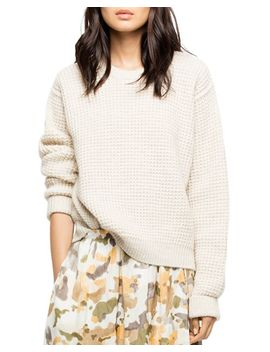 Kary Waffle Knit Sweater by Zadig & Voltaire