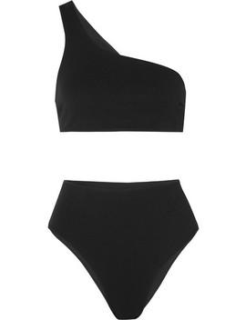 Perlin One Shoulder Bikini by Haight