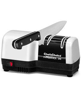 Edgecraft Chef's Choice Electric M210 Knife Sharpener, Hybrid Diamond Hone by Chef's Choice®