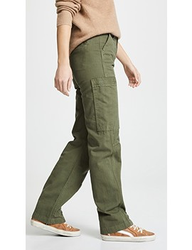 High Rise Cargo Pants by Re/Done