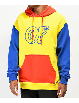 Odd Future Primary Colorblock Hoodie by Odd Future