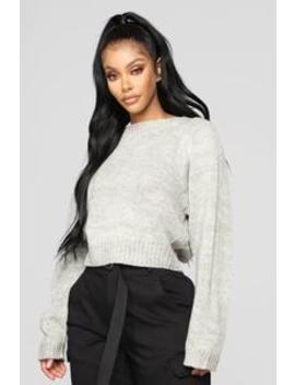 No Intentions Sweater   Beige by Fashion Nova