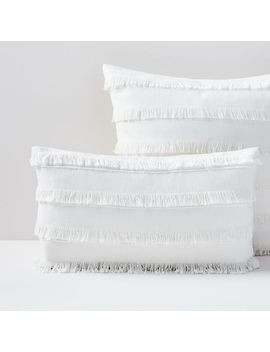 Fringe Pillow Covers by West Elm