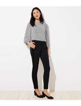 Skinny Velvet Stripe Ankle Pants In Marisa Fit by Loft