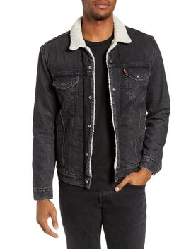 Type 3 Faux Fur Lined Trucker Jacket by Levi's®