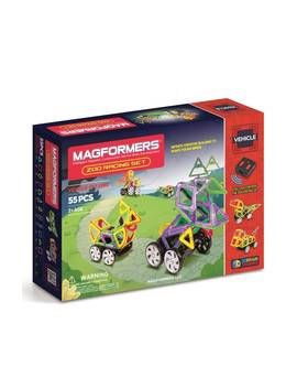 'zoo Racing' Magnetic Remote Control Vehicle Construction Set by Magformers