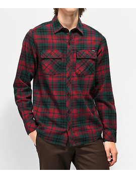 Empyre Marky Red & Black Flannel Shirt by Empyre