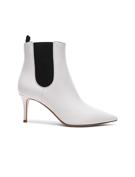 For Fwrd Leather Evan Stiletto Ankle Boots by Gianvito Rossi