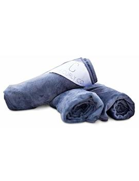 Premium Microfiber Extra Large Hair Towel By The Curly Co. With The Curly Co. 100 Percents Satisfaction Guarantee by The Curly Co.