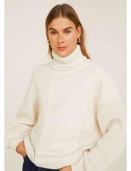 Sweatshirt Met Col by Mango