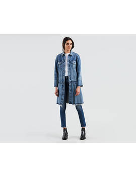 Levi's® Made & Crafted® Pleated Trucker Jacket by Levi's