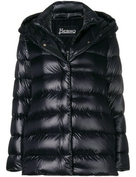 Hooded Puffer Jacket by Herno