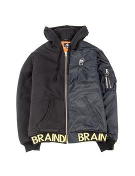 Converse Incubate X Brain Dead Hooded Bomber / Black by Converse Incubate X Brain Dead