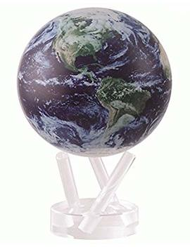 """4.5"""" Satellite View With Cloud Cover Mova Globe by Mova"""