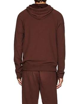 Brushed Pima Stretch Cotton Blend Hoodie by Atm Anthony Thomas Melillo