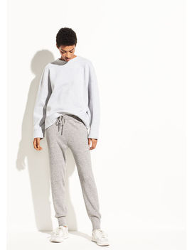 Ribbed Wool Jogger by Vince