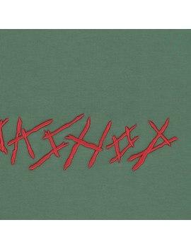 Bmc Crewneck Sweatshirt Washed Hunter Green by 032c