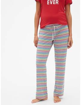 Maternity Modal Sleep Pants by Gap